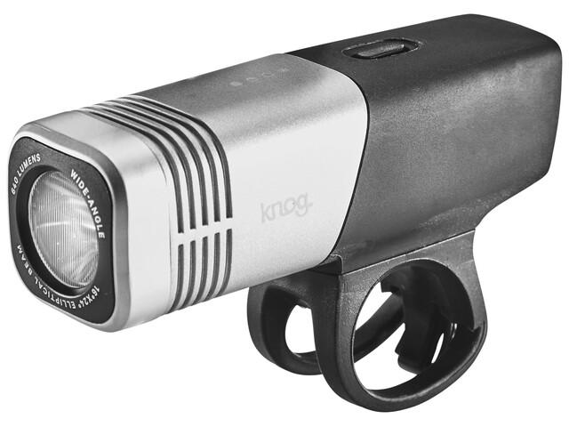 Knog Blinder ARC 640 Fietsverlichting witte LED zilver